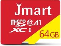 Jmart Ultra Premium 64 GB MicroSD Card Class 10 100 MB/s  Memory Card(With Adapter)