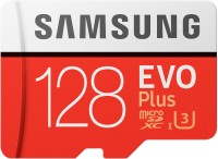 SAMSUNG EVO Plus 128 GB SD Card Class 10 95 MB/s  Memory Card(With Adapter)