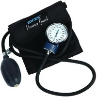 Hicks Dial Type Pressure Guard Sphygmomanometer Aneroid Bp Monitor(Black)