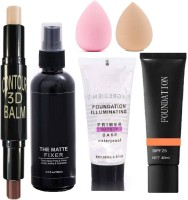 AJDP new makeupcombo set with all products(6 Items in the set)