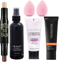 AJDP faetive season bridal makeup combo kit with all beauty products(6 Items in the set)