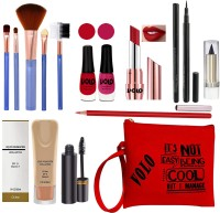 Volo All In One Makeup Kit For Women 27A20A10(Pack of 14)