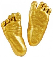 My Impression Studio MIS Newborn Baby Keepsake(Metallic Gold)