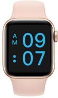 VIKYUVI Vikfit Style Full Touch Control Smartwatch(Pink Strap, Regular)