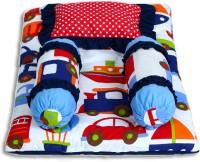 Miss & Chief 4pc Cotton Bedding Set(Multicolor)