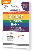 Educart CBSE Science Class 10 Question Bank (Reduced Syllabus) for 2021(English, Paperback, Educart)