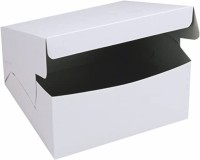 Sipco Cake Box Cardboard Birthday, Party, Wedding, Chocolate, Candy, Fiestival, Anniversary Packaging Box(Pack of 10 White)