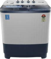 Voltas Beko 8 kg Semi Automatic Top Load White, Blue(WTT80DBLT)