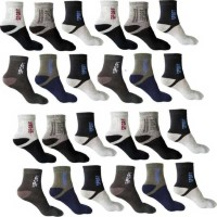 ME Stores Men & Women Self Design, Solid Low Cut, Ankle Length, Peds/Footie/No-Show(Pack of 12)