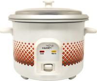 V-Guard VCRC 1.8E Electric Rice Cooker(1.8 L, White, Orange)