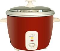 V-Guard VDRC 1.8E Electric Rice Cooker(1.8 L, Red, White)