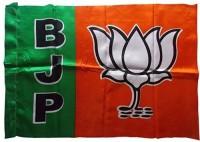 JETHA ENTERPRISES BJP PARTY FLAG Rectangle Outdoor Flag Flag(Rayon)