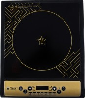 Flipkart SmartBuy Aurum Induction Cooktop(Black, Gold, Push Button)