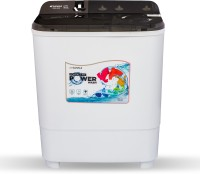 Sansui 6.5 kg Wash and Dust Protection, Powerful Spin, Breeze Dryer Technology Semi Automatic Top Load Black(JSX65S-2020K)