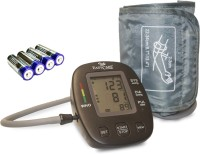 EASYCARE Digital Blood Pressure Monitor with Fully Automatic Arm Style (Micro Computer Intelligent) Approved By WHO EC9009 Bp Monitor(Black)