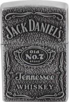 Mithi 0 Refillable Antique Jack daniels Shaped Cigarette Lighter Pocket Lighter (Silver) Pocket Lighter(Silver)