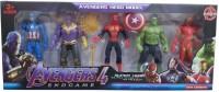 Deekay Avengers Set Action Figure Toy(Multicolor)