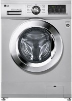 LG 8 kg Fully Automatic Front Load with In-built Heater Silver(FH2G6TDNL42)