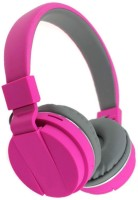 OSRAY SH12 Bluetooth Wireless Gaming And Music Headset Bluetooth Headset with Mic(pink, Over the Ear)