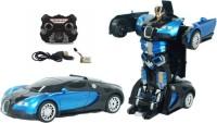 skyler Bugatti Transformer Radio control rechargeable car Blue (Blue)