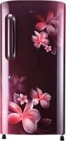 LG 215 L Direct Cool Single Door 4 Star Refrigerator(Scarlet Plumeria, GLB221ASPY)