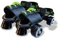 Adrenex by Flipkart Drift 100BK Quad Roller Skates - Size 1-7 UK(Black)