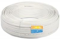 SUCHETA PVC White 30 m Wire(White)
