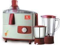 Candes JMG ROSE 151 500 W Juicer Mixer Grinder(Red, Grey, 2 Jars)