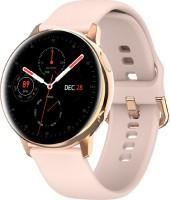 Evolves NextFIT Halo Retina AMOLED Display Touch Smartwatch(Pink Strap, Regular)