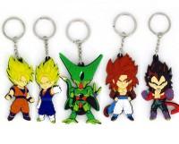 Bidheaven Dragon Ball Z Goku Super Saiyan Gogeta Vegeta Key Chain