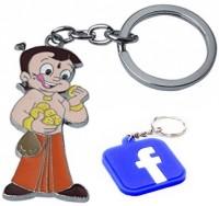 Surprise Gifts Chhota Bheem Facebook Key Chain