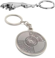 Alexus Calnderjaguar Key Chain(Silver)