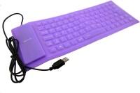 View Redeemer flexo Wired USB Laptop Keyboard(Purpal) Laptop Accessories Price Online(Redeemer)