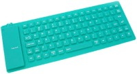 Shrih SH-0190 Wired USB Laptop Keyboard(Green)