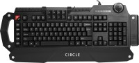 View Circle Ballistic Gaming Wired USB Gaming Keyboard Laptop Accessories Price Online(Circle)