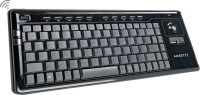Amkette In-built Mouse Wireless Keyboard(Black)