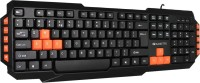 Amkette Xcite PRO Wired USB Laptop Keyboard(Black)