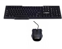 View ProDot Kb-207s Keyboard Mouse Wired USB Laptop Keyboard(Black) Laptop Accessories Price Online(ProDot)