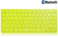 Callmate Bluetooth Keyboard with B.T USB Dongle - Green Bluetooth Laptop Keyboard(Green)
