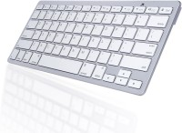 View ROQ Ultra Slim Bluetooth Tablet Keyboard(Silver) Laptop Accessories Price Online(ROQ)