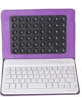 Callmate CMWBKCA7PU Bluetooth Tablet Keyboard(Purple)