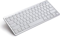 Sparin SP-APKB-WHI Bluetooth Tablet Keyboard(White)