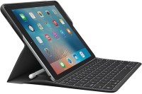 Logitech Create 9.7 inch iPad Pro Smart Connector Tablet Keyboard(Black)