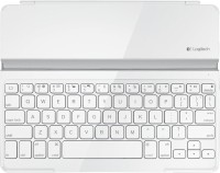 Logitech Logitech Ultrathin Bluetooth Keyboard for ipad(White) Wireless Tablet Keyboard(White)