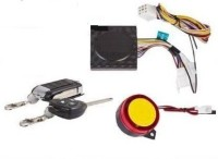Auto Garh One-way Bike Alarm Kit(Siren, Flashing Light 120 dB)
