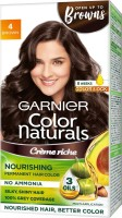 Garnier Color Naturals Creme , Shade 4, Brown