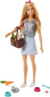 BARBIE Doll and Pets Accessories(Multicolor)