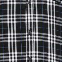 Campus Sutra Men Checkered Casual Black Shirt