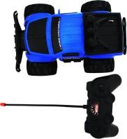 WEBKREATURE Radio Control Extreme Rock Crawler Monster Truck - Blue (Blue)