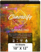 Canvasify Canvas Pads - All Sizes (10